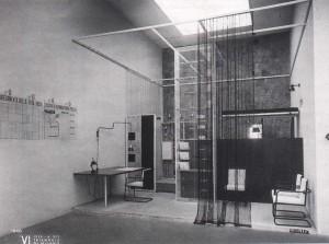 Stanza per un uomo, 1936 - per la VI Triennaledi Milano (fonte: www.spazioldo.com)