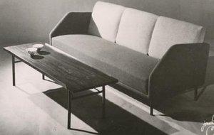 Finn Juhl sofa Bo77 e tavolino Bo101