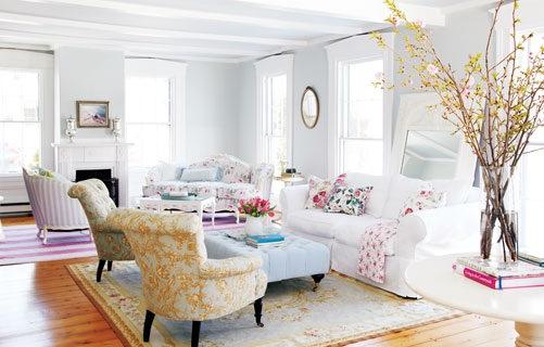 Il living shabby chic arredativo design magazine - Shabby chic interiors soggiorno ...