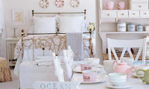 Splendida set accessori bagno shabby tendine per cucina in