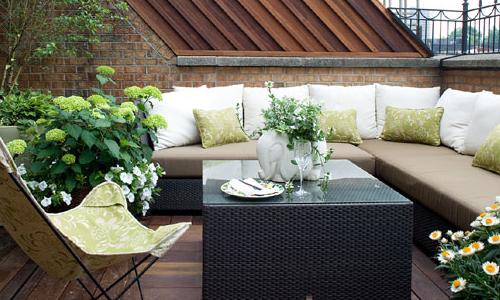 Design per il verde in terrazza - Arredativo Design Magazine