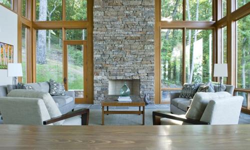 Pietra in soggiorno... - Arredativo Design Magazine