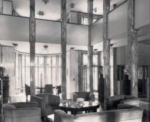 Interni di Palais Stoclet (fonte: http://bachmanbrowndesign.com/ )