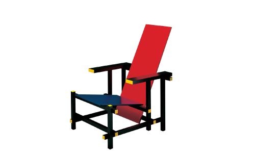 Sedia Red And Blue.Red And Blue Arredativo Design Magazine