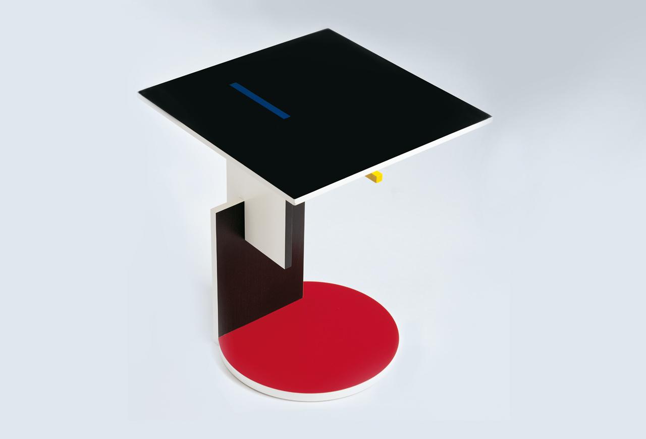 Tavolino Di Rietveld.Tavolo Schroeder Arredativo Design Magazine