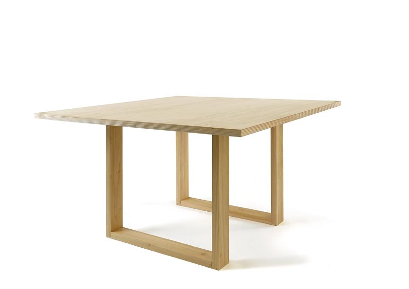 Tavolo quadrato cabbdesign arredativo design magazine - Tavolo quadrato legno ...