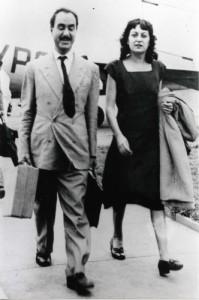 Lina Bo Bardi con il marito (fonte: www.iuav.it)