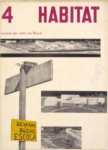 "RIVISTA ""HABITAT""n°.4, 1950 (fonte: www.capesaro.visitmuve.it)"
