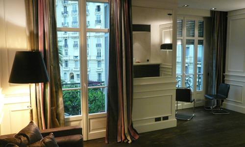 Grand palais interior design di una abitazione a nizza for Abitazione design