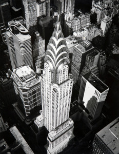 Marilyn Bridges, Chrisler Building, N.Y, 1998 Raccolta della fotografia, Galleria civica di Modena © Marilyn Bridges
