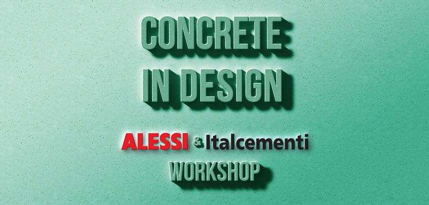 concrete in design nuovo concorso di design di desall