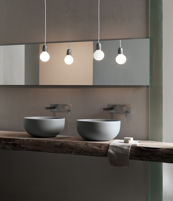 arredo bagno: saper scegliere il lavabo - arredativo design magazine - Arredo Bagno Cielo