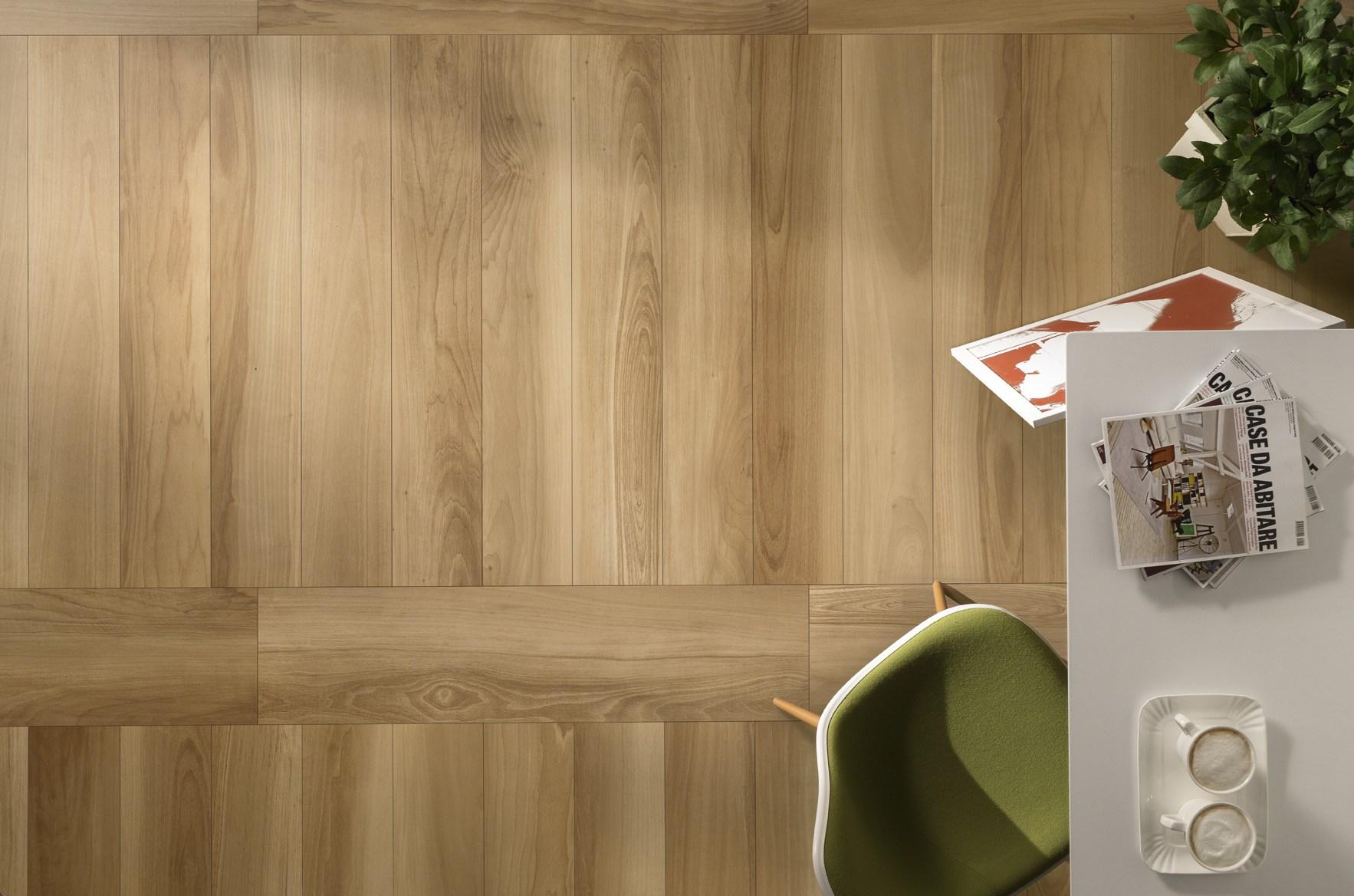 Finiture d interni la piastrella effetto legno arredativo design