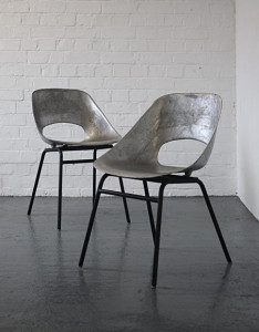Tulip chairs di Pierre Guariche del 1954 di Steiner.
