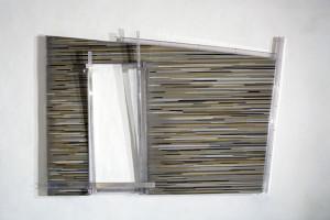 Loris Cecchini, The polychromesandsessions (#3, Hasena), 2010, Policarbonato protetto UV. sabbia silicea, pigmenti puri, Optical Lighting Film, Alluminio, 320 x 210h x 28 cm, Courtesy Galleria Continua, San Gimignano/Beijing/Le Moulin