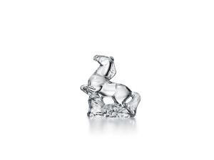 Baccarat Zodiac cavallo cristallo trasparente
