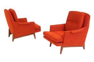 Lounge Chairs Dunbar Lounge Chairs di Edward J. Wormley  (fonte: http://www.1stdibs.com/ )