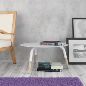 Tavolino Fractal Bianco 2 Amb