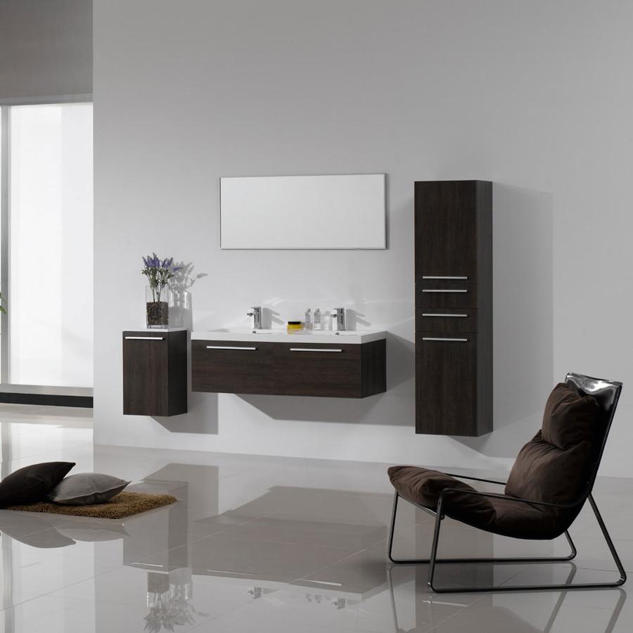 La casa per due il bagno arredativo design magazine - Lavabo bagno in resina ...