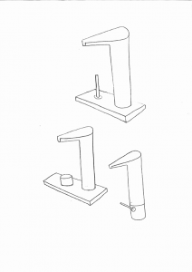 Axor V firmata Philippe Starck