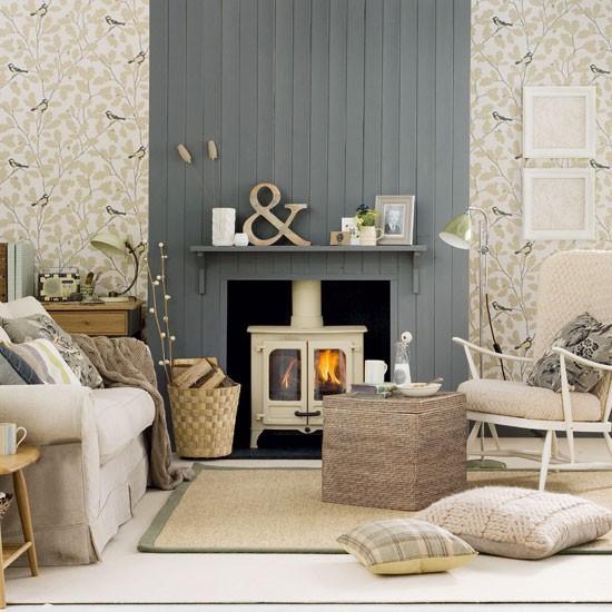 wallpaper-country-living-room-ideas - Arredativo Design ...