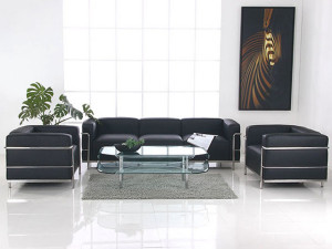 Le Corbusier LC3 Armchair - Black Leather 3