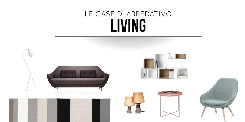 Le case di arredativo nel soggiorno nordic style for Le case design