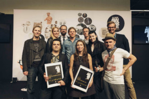 Winners and jury of BLOOOM Award by WARSTEINER 2015