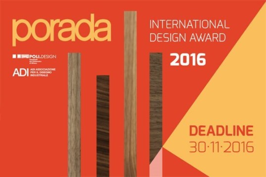 Porada international design award 2016 arredativo design for Porada arredi srl