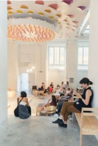 La sede di Craft Way, BASE Milano. ph Maria Teresa Furnari