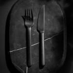 Cutlery in black di Norm.Architect