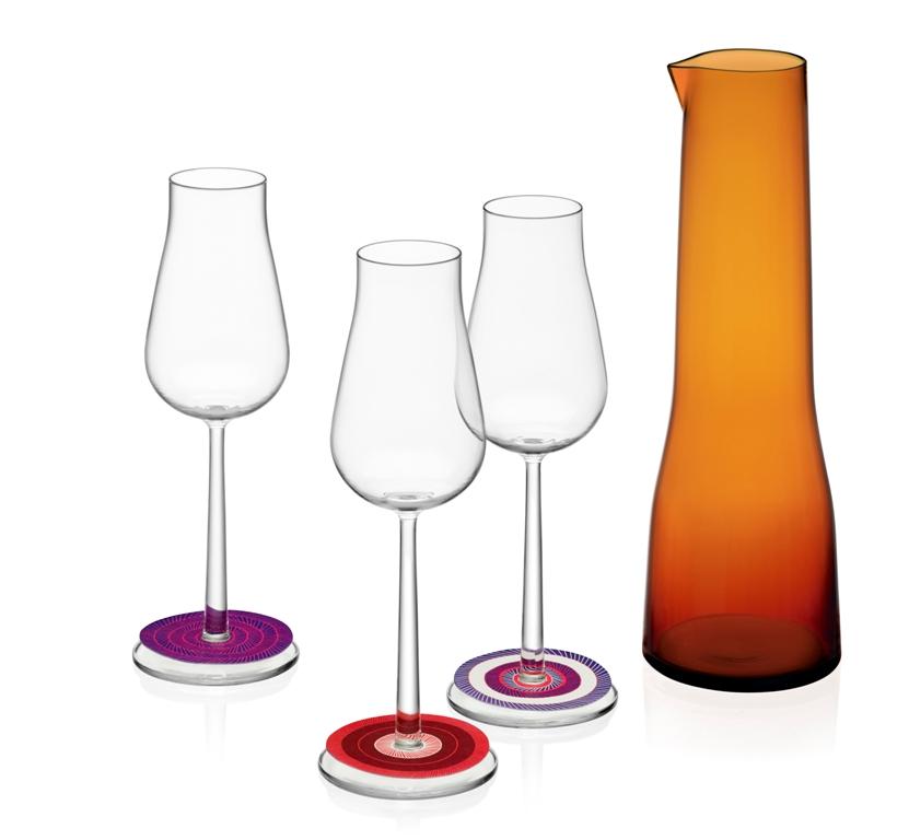 Essence Plus bicchieri 28 cl - Essence caraffa rame - Origo segnaposti