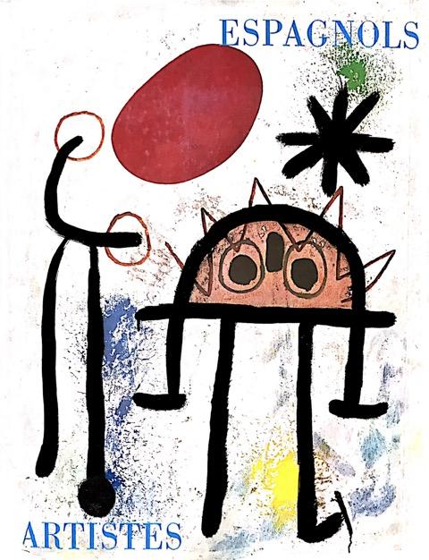 06_Catalogo della mostra Artistes espagnols, Basilea Galleria Beyeler, 1969