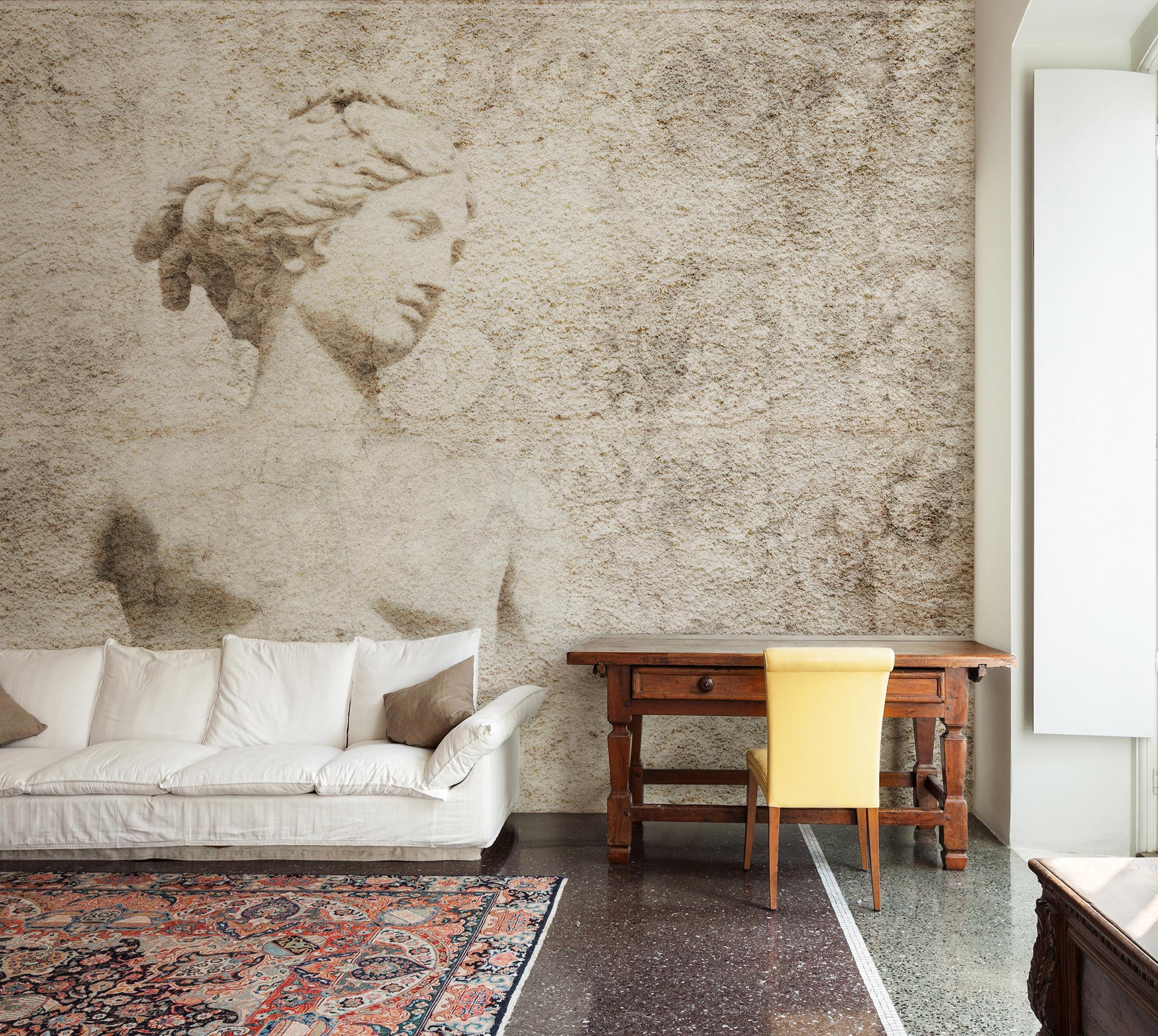 Carta Da Parati Roma pazzi per i wallpaper: carte da parati tra arte e design