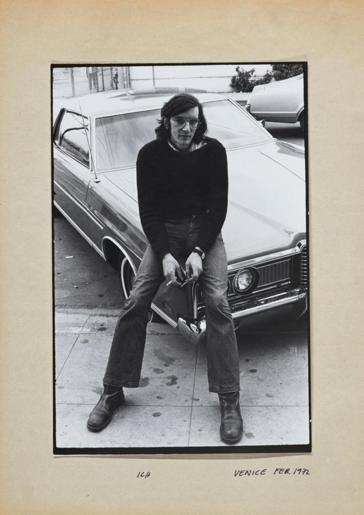 Jean-Christophe Ammann Untitled (Balthasar Burkhard) Senza titolo (Balthasar Burkhard) USA, 1972 Stampa alla gelatina d'argento 21 x 29,7 cm © Estate Balthasar Burkhard, 2018