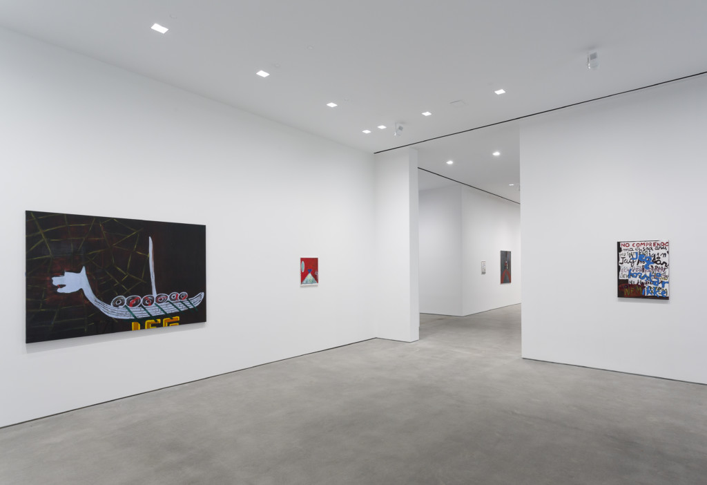 Walter Swennen Bewtie September 15 - October 28, 2017 Installation view: Gladstone Gallery, New York Copyright Walter Swennen Courtesy the artist and Gladstone Gallery, New York and Brussels.