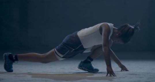 Adelita Husni-Bey, After the Finish Line (still) 2015 4K video, 12'39'' Courtesy l'artista, Whitney Museum of American Art e Laveronica arte contemporanea, Modica