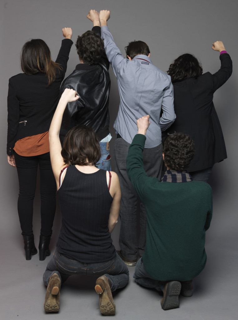 """Adelita Husni-Bey, dalla serie """"Agency"""", Attivisti 2014 C-print, 110 × 147 cm Courtesy l'artista e Laveronica arte contemporanea, Modica"""