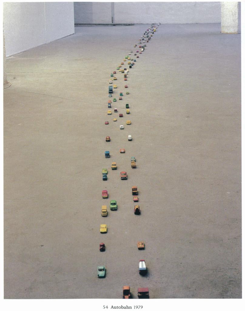 Tony Cragg, Autostrada, 1978