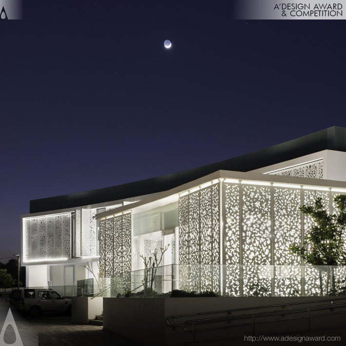 Arsuf Panoramic Edificio residenziale di alto livello di Rama Mendelsohn Lighting Design