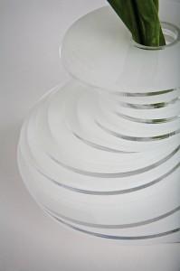 Un particolare del vaso Lady Clay