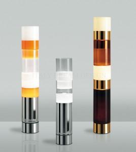 Differenti Colori e Grandezze per la lampada Stacking